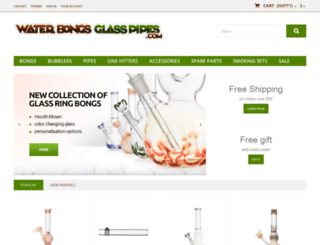water-bongs-glass-pipes.com screenshot