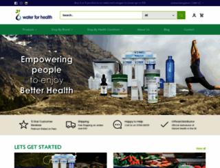 water-for-health.co.uk screenshot