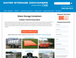 water-storage-containers.com screenshot