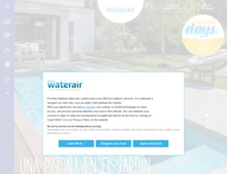 waterair.es screenshot