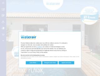 waterair.fr screenshot