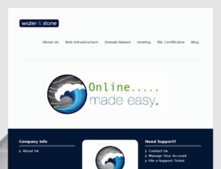 waterandstone.com screenshot