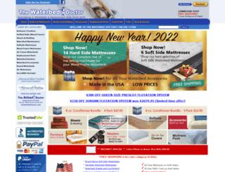 waterbeddoctor.com screenshot