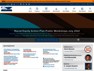 waterboards.ca.gov screenshot
