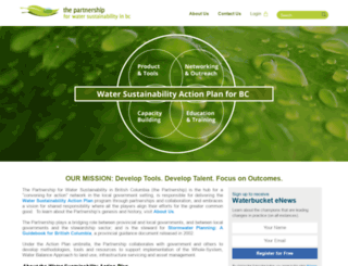 waterbucket.ca screenshot