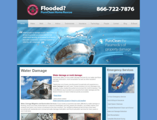 waterdamageout.com screenshot
