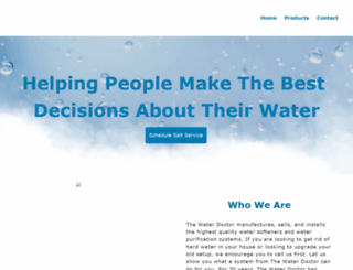 waterdoctorutah.com screenshot