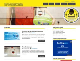 waterdragers.nl screenshot