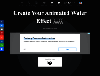 watereffect.net screenshot