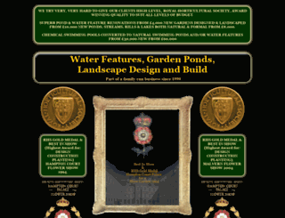 waterfeatures.co.uk screenshot