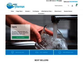 waterfilterman.co.uk screenshot