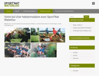 waterloo.sportnat.be screenshot