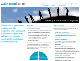 watermanburns.com screenshot