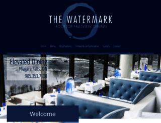 watermarkrestaurant.com screenshot
