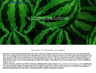 watermehlongaming.weebly.com screenshot