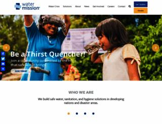watermission.org screenshot