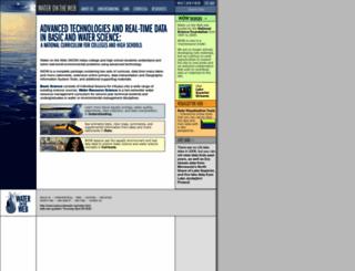 waterontheweb.org screenshot