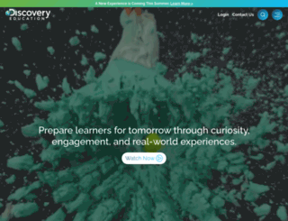 waterplanetchallenge.discoveryeducation.com screenshot