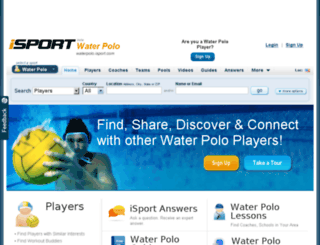 waterpolo.isport.com screenshot