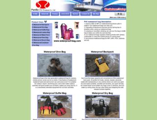 waterproof-bag.com screenshot