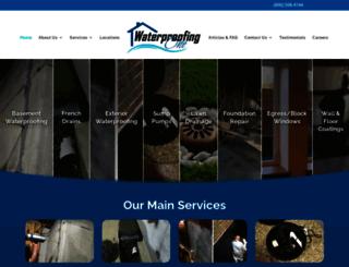 waterproofingone.com screenshot