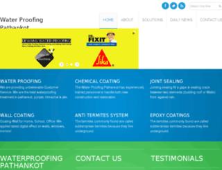 waterproofingpathankot.com screenshot