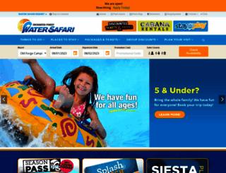 watersafari.com screenshot