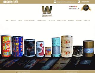 watershed-packaging.co.uk screenshot