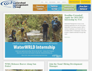 watershedmg.org screenshot