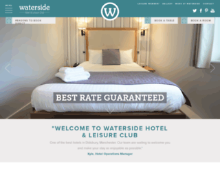 watersidehotel.co.uk screenshot