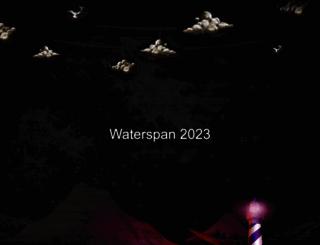 waterspan.com screenshot