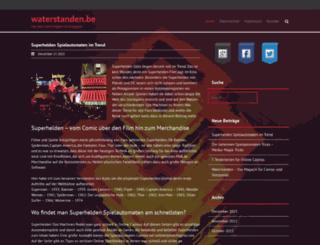 waterstanden.be screenshot