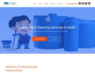 watertankcleaning.solutionsnaaka.com screenshot