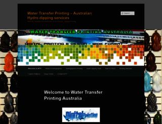 watertransferprinting.com.au screenshot