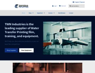watertransferprinting.com screenshot