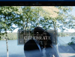 waterviewcatering.com screenshot