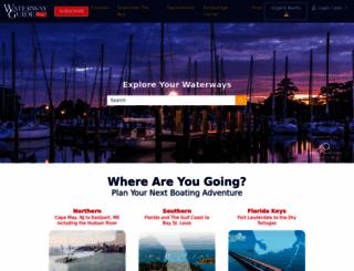 waterwayguide.com screenshot