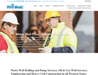 waterwellplus.com screenshot