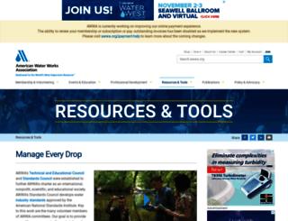 waterwiser.org screenshot