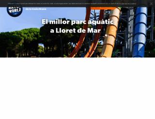 waterworld.es screenshot