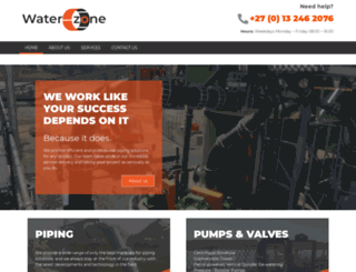 waterzone.co.za screenshot