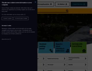 watford.gov.uk screenshot