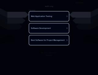 watin.org screenshot