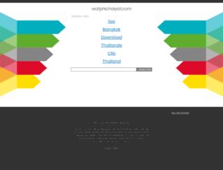 watphichaiyat.com screenshot