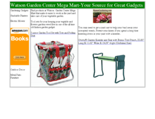 watsongardencenter.com screenshot