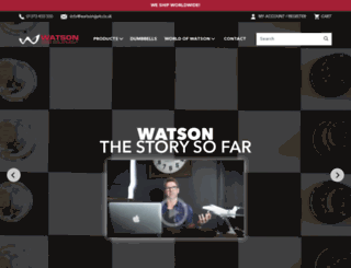 watsongym.co.uk screenshot