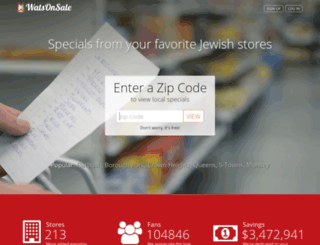 watsonsale.com screenshot