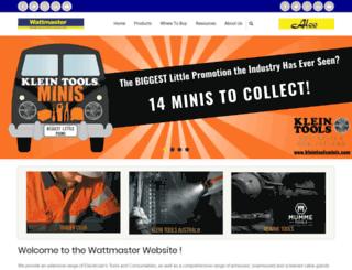 wattmaster.com.au screenshot
