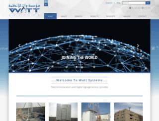 wattsa.com screenshot