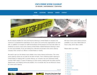 waukesha-wisconsin.crimescenecleanupservices.com screenshot
